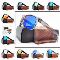 gafas de sol polarizadas para hombre al por mayor-Estilo (11) Hombres Diseño Moda Deportes Gafas de sol UV400 Lente polarizada Nuevo YO91-02 Gafas al aire libre a estrenar Envío gratis