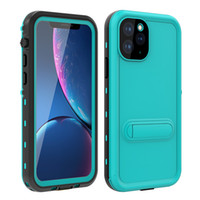 Wholesale phone waterproof case for sale – best Red Pepper IP68 Waterproof Bracket Phone Case For iPhone Pro X XR XS Max Samsung S20 Ultra S10 Plus Shockproof Cases
