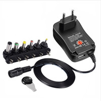 lg netzteil großhandel-3 V 4,5 V 5 V 6 V 7,5 V 9 V 12 V 2A 2,5 A AC / DC-Adapter Einstellbare Stromversorgung Universal-Ladegerät für LED-Glühbirne LED-Streifen