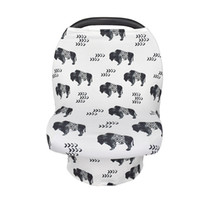 Wholesale trolley covers resale online - Multifunction Stretchy Baby Car Seat Cover Nursing Cover Breastfeeding Cover Shopping Cart Grocery Trolley Covers Carseat Canopy
