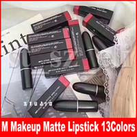 maquiagem diva venda por atacado-Marca matte batom chili marrakesh galho mocha diva lady perigo 13 cores rouge lip maquiagem maquilagem batom à prova d 'água