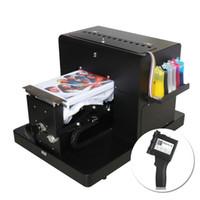 portable printer al por mayor-Camiseta Priner A4 Impresora DTG Ropa Máquina de impresión multifunción de mano Impresora portátil de inyección de tinta Etiqueta portátil