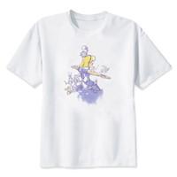 ingrosso j animali-Hillbilly J-1415 Felpa nuova manica corta e stampa animalier della camicia da donna personalità casual girocollo sciolto bianco Tee