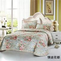 Wholesale king size bedding coverlet for sale - Satin Jacquard Bedspread Queen size Bed cover Bed spread Coverlet Set Quilt Blanket colcha de cama couette couverture de lit