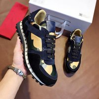 Wholesale concrete modelling for sale - Group buy classic Luxury Shoes Fashion Designer Shoes Man Woman High Quality Punk Style Casual Shoes size Model ST042911