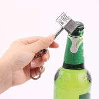 Wholesale bottle hammer for sale - Group buy Avengers Creative Thor Hammer Bottle Opener Beer Bottle Opener Keychain Hammer of Thor Pendant Bar Party Supplies Decoration L239