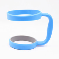 Wholesale cups for coffee resale online - J oz tumbler handle Portable Plastic Cup Handles for Stainless Steel tumbler Vacuum Insulated coffee Mugs holders