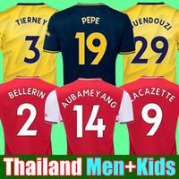 henry jersey venda por atacado-19 20 Arsenal camisa de futebol 2019 2020 PEPE JERSEY AUBAMEYANG OZIL TORREIRA Tops de camisa de futebol do futebol