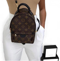 Wholesale louis backpack online - LOUIS VUITTON SUPREME MONOGRAM BACKPACK  MINI Shoulder Bags For Women Leather fe76bc5939295