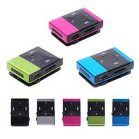 Wholesale mini clip 8gb mp3 player resale online - MP3 Mini USB Clip Digital Mp3 Music Player Support GB SD TF Card Fashion Men Woman Essential Equipment