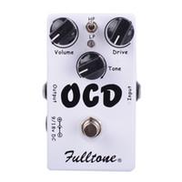 pédales d'effets flanger achat en gros de-CLONE OCD Obsessive Compulsive Drive Pédale d'effet guitare Overdrive / Distortion Deux choix de mode (HI / LOW) et True Bypass Livraison gratuite