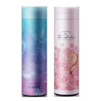Wholesale painting drinks for sale - Group buy Starry Sky Frosted Kettle Motion Space High Capacity Cup Stainless Steel Thermal Insulation Water Bottle Brightly Painted Outdoors atb1