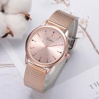 Wholesale silver mesh belts resale online - Luxury Women Watch Dress Mesh Belt Bracelet Watch Fashion Quartz Ladies Wristwatch Classic Casual Clcok Gift Relojes Mujer B