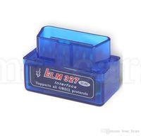 batería icom al por mayor-Herramienta de diagnóstico del coche del explorador de diagnóstico mini ELM327 Bluetooth V2.1 OBD2 ELM 327 Bluetooth Interfaz auto del coche escáner KKA6701
