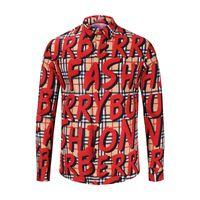 i̇talyan erkekler toptan satış-18-19 yıl İtalyan klasik Medusa gömlek pol çiçek baskı renk lüks rahat Harajuku gömlek uzun kollu erkek kafa Medusa gömlek