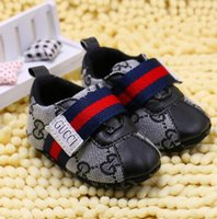Wholesale printing baby fashion resale online - HOT Fashion Brand Baby Boys Girls First Walkers Baby Indoor Non slop Toddler Shoes s888