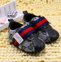 bebek kızları için ayakkabı markaları toptan satış-SıCAK! Moda Marka Bebek Erkek Kız İlk Walkers Bebek Kapalı olmayan slop Toddler Ayakkabı s888