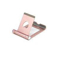 aluminiumständer für ipad großhandel-2019 Z8 Handy Tablet Schreibtischhalter Aluminium Metallständer für iPhone iPad Mini Samsung Smartphone Tablets Laptop