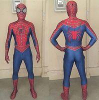 ingrosso costumi da supereroe del capretto di zentai-Tute per adulti Spider-Man 3 Raimi Spiderman Costume Zentai Supereroe Tute tuta