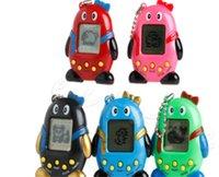 digitale haustiere großhandel-2019 NEUE Tamagotchi Dinosaurier ei Virtuelle Cyber Digital Pet Spiel Spielzeug Tamagotchis Digitale Elektronische E-Pet Geschenk 5 Farben