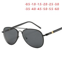Wholesale sunglasses degree for sale - Group buy Women Men Myopia Sunglasses With Degree Classic Driving Short sighted Eyewear Diopter SPH T0