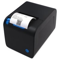 Wholesale shipping printers for sale - Group buy Auto Cutter mm Thermal Receipt Printer YK Straight Thermal Print for cash register USB RS232 Ethernet