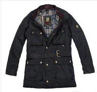 хорошие бренды пальто оптовых-Осень-жарко! марочного бренд Международной воска хлопка люди куртка мужчины водонепроницаемого пальто мужской вощеная мотоцикл верхняя одежда хорошего качество в продаже