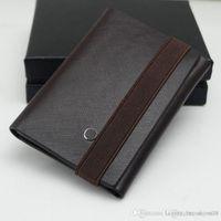 Wholesale genuine leather jewellery resale online - Genuine Leather Man Folding Wallet Calfskin MT Wallet Credit Card Holder Cash Clip option exquisite brand cufflink Jewellery New