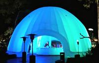event zelt kuppel großhandel-Aufblasbares Zelt Aufblasbares Iglu-Hauben-Zelt-Werbungs-Ereignis-Dekorations-Ausstellungs-Förderung