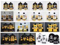 eishockeystadion großhandel-2019 Stadium Series Pittsburgh Penguins Trikot 87 Sidney Crosby 71 Evgeni Malkin Phil Kessel Kris Letang Lemieux Matt Murray Guentzel Eishockey