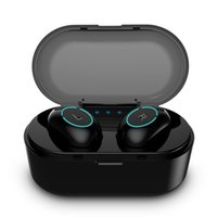 водонепроницаемые наушники оптовых-обновленные tws Bluetooth 5.0 стерео наушники водонепроницаемые спортивные наушники-вкладыши с зарядным чехлом для iphone x / xr / samsung galaxcy cell phon