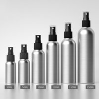 Wholesale fine metal for sale - Group buy Factory Price ml ml ml ml ml ml Spray Aluminum Bottle Essential Oil Sunscreen Black Fine Mist Atomizer Cosmetic Container