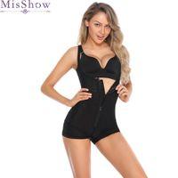 culotte corset noire achat en gros de-New Black Corsets et bustiers body shaper bustier corselet corset taille minceur Body Tummy Control Panties Femmes Body