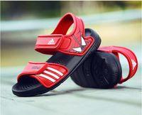 zapatos para la cara al por mayor-Nuevo 2019 Marcas infantiles Calzado sandalias de verano para niños zapatos de playa niñas colores dulces sandalias lindas caras sonrientes envío libre tamaño de la UE:
