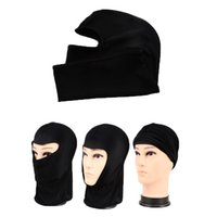 Wholesale motorcycle winter face mask resale online - Outdoor Sports Neck Motorcycle Motocross Face Mask Winter Warm Ski Snowboard Wind Cap Cycling Balaclavas Face Mask Tactical