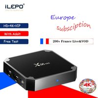 Wholesale android tv boxes 2g 16g for sale - Group buy Europe Subscritpion Android TV Box X96 mini Amlogic S905W G G K WiFi H Live and VOD France m3u better than mxq