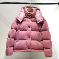 qualité femme NOUVEAU blanc marque Casual hiver rose veste haute M5 canard d bas 2018 design survêtement capuche couleur hiver brillant parkas à 3ASc4Lq5Rj