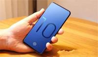 huella dactilar de goophone al por mayor-6.3 pulgadas Goophone S10 S10 + goophone con huella digital Desbloqueo MT6580 3G 1900 Mostrar teléfono inteligente falso 4G LTE 64GB DHL gratis