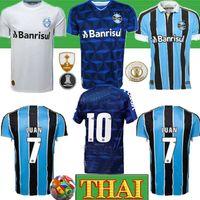 futbol forması toptan satış-Tay 2019 Gremio Paulista Futbol Formalar 19 20 Gilchmei En Gremio Johnath MILLER LUAN Marlone Azevedo da Silva kadın Futbol gömlek