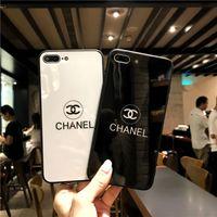 продажа телефонов оптовых-Оптовая Роскошные Женщины Дизайнерские Случаи Телефона Мода Чехол для IPhone X 7Plus 8P 7 8 6P 6SP 6 6 S Письмо Марка Горячей Продажи Белый Черный