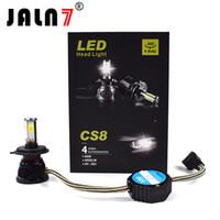 led-scheinwerfer großhandel-CS8 Auto Beleuchtung High Abblendlicht Cob 80W 8000lm H1 H4 H7 Led Scheinwerfer Hohe Qualität Led Scheinwerfer Auto Led-Licht