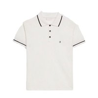 ingrosso maglietta bianca nera bianca-Luxury European Lettera Logo Print Tshirt Polo Shorts Mens Designer T Shirt Donna Coppia Grigio Tide Alta qualità Black White Tee HFSSTX253