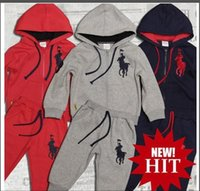 sx animais venda por atacado-Calças novo clássico Logo Luxury Designer t-shirt do bebê jaqueta de dois Piec 2-8 anos Olde 2pcs Suit Crianças moda infantil Algodão Define SX