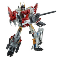 juguete g1 al por mayor-Lensple HZX Transformation G1 Superion IDW 5 EN 1 sets War Team KO Colección TF Figura de acción Juguetes de robot