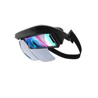 gafas de teatro privado de realidad virtual al por mayor-Inteligente Ar gafas 3D Vídeo Realidad Aumentada Vr Auriculares para vídeo 3D y juegos en el Iphone y Android (4,5-5,5 pulgadas S
