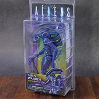 ingrosso modelli esclusivi-NECA Aliens Purple Alien Warrior Club Exclusive 2019 8