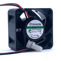 Wholesale 2pin fan for sale - Group buy Maglev SUNON DC12v w MM cm KDE1204PKVX axial cooling fans pin