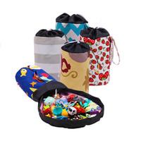 Wholesale children storage for toys resale online - 22 style Storage Bucket Colorful Magic Storage Bucket Children Toy Storage Basket Children Room Organizer Best Gift for Children