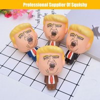 Wholesale free stress toys for sale - Group buy Trump Shape Squishy Toy Slow Rising Cartoon Doll Cream Scented Stress Relief Toy Squeeze Gift