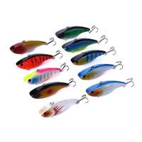 Wholesale vibe baits for sale - Group buy HENGJIA Game vibe Fishing lure carp fishing tackle pesca HARD BAITS VIB Lure Bait CM G hooks pike lure